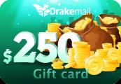 DRAKEMALL.COM $250 Gift Card