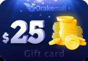 DRAKEMALL.COM $25 Gift Card