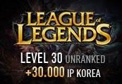 League of Legends Account - Level 30 - Unranked + 30.000 IP KOREA