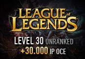 League of Legends Account - Level 30 - Unranked + 30.000 IP OCE