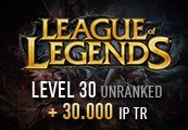 League of Legends Account - Level 30 - Unranked + 30.000 IP TR