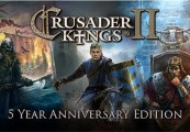 Crusader Kings II: Five Year Anniversary Edition Steam CD Key