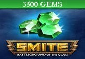 SMITE 3500 Gems CD Key