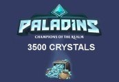 Paladins - 3500 Crystals EU CD Key
