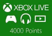 XBOX Live 4000 Points EU/UK/US/CA