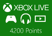 XBOX Live 4200 Points EU