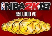 NBA 2K18 - 450,000 Virtual Currency XBOX One CD Key