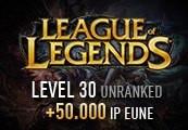 League of Legends Account - Level 30 - Unranked + 50.000 IP EUNE