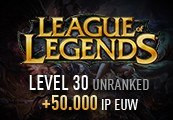 League of Legends Account - Level 30 - Unranked + 50.000 IP EUW