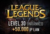 League of Legends Account - Level 30 - Unranked + 50.000 IP LAN