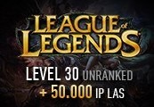 League of Legends Account - Level 30 - Unranked + 50.000 IP LAS