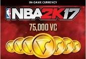 NBA 2K17 - 75,000 Virtual Currency US PS4 CD Key