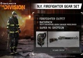 Tom Clancy's The Division - N.Y. Firefighter Gear Set Clé  Uplay
