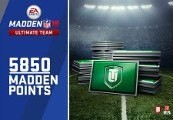 Madden 18 - 5850 Ultimate Team Points Clé XBOX One