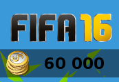 60.000 Fifa 16 Ultimate Team Coins PS4