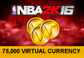 NBA 2K16 - 75,000 Virtual Currency XBOX One CD Key