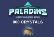 Paladins - 800 Crystals EU CD Key