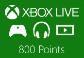 XBOX Live 800 Points US