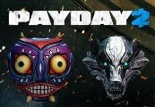 PAYDAY 2 + Moon & Borsuk Masks Steam CD Key