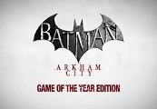 Batman Arkham City GOTY EU Steam CD Key