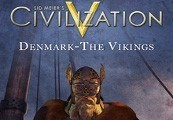 Sid Meier's Civilization V - Denmark: The Vikings Civilization Pack DLC Steam Gift