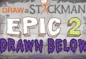 Draw a Stickman: EPIC 2 - Drawn Below DLC Steam CD Key