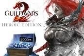 Guild Wars 2 Heroic Edition EU + 2000 Gems Code