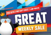Great Weekly Sale Gift - One per account!