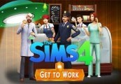 The Sims 4: Get to Work CZ/RU/PL Languages Origin CD Key