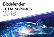 Bitdefender Total Security 2018 Key (1 Year / 10 Devices)