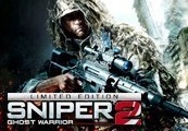 Sniper Ghost Warrior 2 Limited Edition EU Steam CD Key