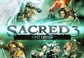Sacred 3 First Edition EU Steam CD Key