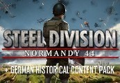 Steel Division: Normandy 44 + German Historical Content Pack DLC Steam CD Key