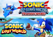 Sonic Lost World + Sonic & All Stars-Racing Transformed Clé Steam