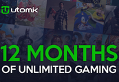 Utomik 12-month Subscription Card