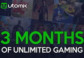 Utomik 3-month Subscription Card