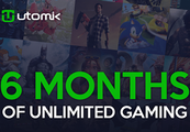 Utomik 6-month Subscription Card