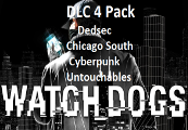 Watch Dogs - Dedsec, Chicago South, Cyberpunk Player, The Untouchables Packs DLC Uplay CD Key