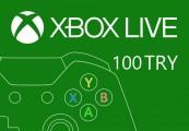 XBOX Live 100 TRY Prepaid Card TR
