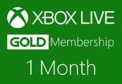 XBOX Live 1-month Gold Subscription Card