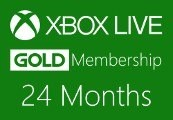 XBOX Live 24-month Gold Subscription Card ASIA