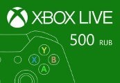 XBOX Live 500 RUB Prepaid Card RU