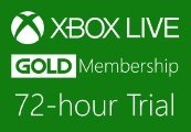 XBOX Live 72-hour Gold Trial Membership US