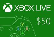XBOX Live $50 Prepaid Card AU
