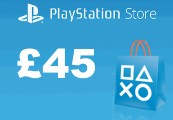 PlayStation Network Card £45 UK