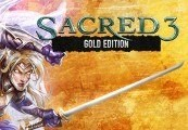 Sacred 3 Gold Steam CD Key