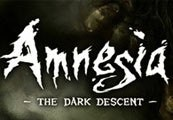 Amnesia The Dark Descent Steam Gift