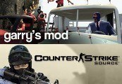 Counter-Strike Source + Garry's Mod RU VPN Required Steam Gift