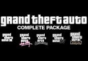 Grand Theft Auto Complete Package Steam CD Key | Kinguin