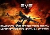 EvE Online 30 DAYS Minmatar Bounty Hunter Starter Pack Digital Download CD Key